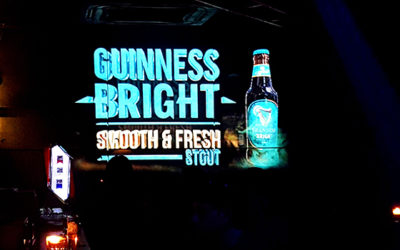 Guinness Bright makes its debut in Malaysia with a snazzy 3D projection